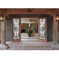 Quality Pearly L Art Glass Panels Thermal Sound Insulation Handcrafted Vogue Timeless Design for sale