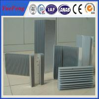 Quality Anodizing aluminum heat sink/extruded aluminum heat sinks for sale