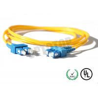 Buy 2.5m Single Mode Fiber Optic Patch Cord 2mm For LANs / Telecom , REACH Listed SC at wholesale prices
