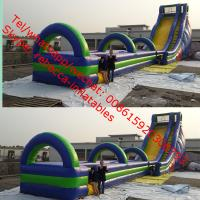China Gaint Cheap Inflatable Water Slides For Sale big kahuna inflatable water slide slip n on sale