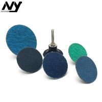 """Quality 2"""" Roloc Sanding Discs , TS TR Conncted  Grinding Green Roloc Disc Zirconia Oxide for sale"""