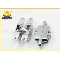 Quality 180 Degree Adjusted Invisible Door Hinges Support Copper / Brass Finishing for sale