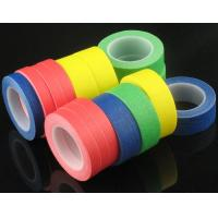 China Cheap Price 130 Degree Rubber Glue White Masking tape,adhesive tapes or auto painting crepe paper masking tape for sale