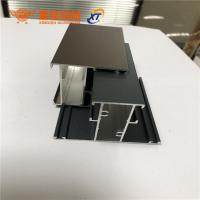 Quality New design different surface treatment aluminum extrusion profiles for windows and doors for sale