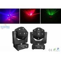 Quality DMX512 16pcs * 3W LED Beam Moving Head Light with Red Green Laser Effet for sale