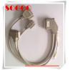 High Density Telecom Cable Assemblies Dh50 50 Pin For Zte 8200 Salt Mist Proof for sale