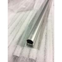 Buy Sand Blasting Natural Anodized Aluminum Oval Tube / 6063 T5 aluminum round pipe at wholesale prices