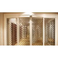 Quality decorative glass usded in sliding door for sale
