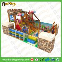 Galvanized Pipe Children Commercial Indoor Exercise Playground Equipment  soft playhouse infant toddler for sale