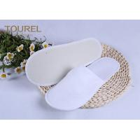 Quality 3mm EVA Nap Cloth Disposable Spa Slippers For Budget Hotel Bedroom Slippers for sale
