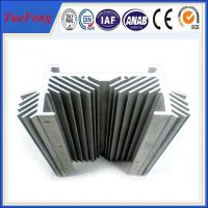 Quality 6061 t6 Aluminum heat sink Application Aluminium profile, custom made aluminum parts for sale