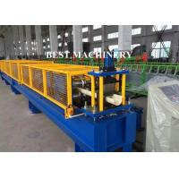 Buy Aluminum Roofing Gutter Sheet Roll Forming Machine Downpipe Usage at wholesale prices