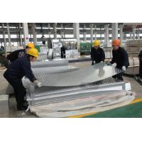 Quality Hot / Cold Rolled Aluminium Diamond Plate With High Weather Resistance for sale