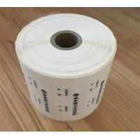 Quality Digital Number Security Void Tape 1000pcs Per Roll For Product Boxes for sale