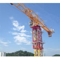 China Flat top Tower Crane 10 Ton 60m Jib length stationary type Construction Site Cranes on sale
