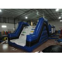 China Newest inflatable cow themed obstacle courses interactive outdoor inflatable obstacle course for sale on sale