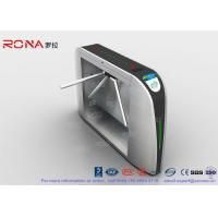 Buy cheap Enhance Control Waist High Turnstiles 500mm Arm Length Intelligent Transportation System from wholesalers