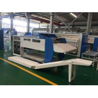 China Towel Automatic Clothes Folding Machine Blue Color Stainess Steel Frame Structure on sale