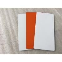 Buy White / Sliver Outdoor Aluminum Sign Panels 4mm Thickness With Fire Resistance at wholesale prices