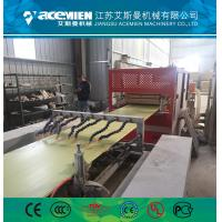 Buy cheap PVC ceiling wall panel extruder machine plastic profile production line from wholesalers