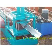 Quality Durable Seamless Gutter Machine , Water Gutter Making Equipment Former Line for sale