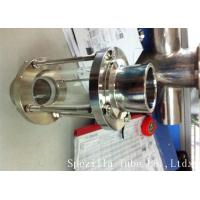 ASTM A270 Sanitary Stainless Steel 304 Fittings Sight Glass For Chemical Industries for sale