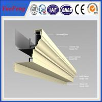 Quality Aluminum thermal break window supplier, aluminium windows with mosquito net for sale