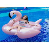 75' Rose Golden Pink Flamingo Inflatable Pool Floats Fashion Rose pink Flamingo water Float Manufacturer