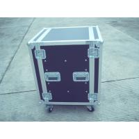 Quality Silver / Black Rack Flight Case 28U 9mm Plywood With Pop Rivet Structure for sale