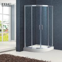 China Polished Full Tempered Glass Shower Enclosure For Bath Good Insulating Properties on sale