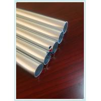Powder Coating 6063 Bright Silver Cut Aluminium Pipe Profile For Building Material