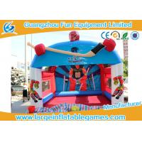 """Quality Promotional Inflatable Hockey Games Goal Post For Outdoor Amusement 15""""X12"""" for sale"""