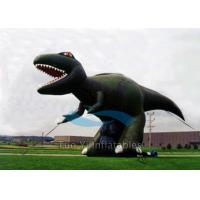 Quality Giant Dinosaur Inflatable Cartoon Characters 4M Height For Exhibitions for sale