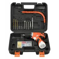 China Lithium Battery 12V Cordless Drill Tool Set 78 Piece With Drill Bits / Screwdriver Bits on sale