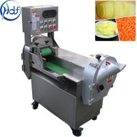 1.1kw Multifunction Vegetable Cutting Machine 304 Stainless Steel Material
