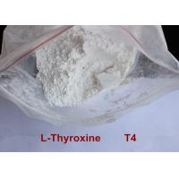 Quality High Purity Safe Weight Loss Drug Levothyroxine T4 Powder CAS 51-48-9 for sale