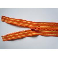 Buy Colourful metel pull background nylon coil zipper zipper for jacket  , coat , dress at wholesale prices
