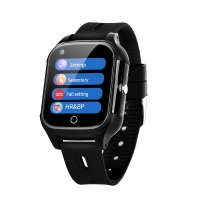 Quality 4G WIFI GPS Smart Watch for Elderly seniors Geo-Fence Touch Screen Camera SOS Alarm Anti-Lost GPS Tracker for sale