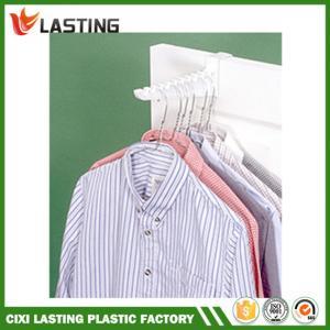 China Reusable Plastic Over Door Ironing Hooks White 24.5 * 7.3 * 2.7cm on sale