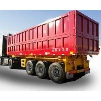 Quality 35 Ton Payload Used Semi Trucks , 3 Axles 2nd Hand Trailers Manual Operation for sale