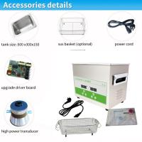 Quality Dual Frequency 40/80Khz Medical Ultrasonic Cleaner For Hospital Cleaning for sale