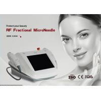Quality Portable RF Micro Needle Machine Foot Switch For Face Lifting Skin Tightening for sale