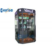 Booth Shaped Modern Karaoke Machine Coin Operated QR Code Scan for sale