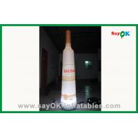 Quality Commercial Inflatable Wine Bottle , Inflatable Holiday Decorations for sale