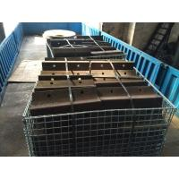 Quality Wear-resistant Casting Ni Hard Edge Cover Length 240mm / 490mm for sale