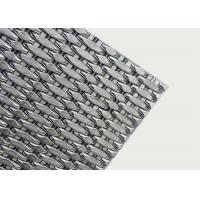 Buy cheap Decorative Elevator Metal Mesh , Hard Curtain Screen For Elevator Cab Walls from wholesalers