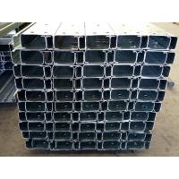Quality Light Weight Perforated 2mm Thickness C Purlins / Cold formed Steel C Channel for sale