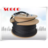 China Black Outdoor Fiber Patch Cord LC To LC Fiber Cable 75m 60m 45m 40m 10m on sale