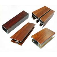 Buy Low Pollution Aluminum Window Frame Profile Wood Finish For Decoration at wholesale prices