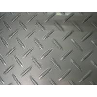 Quality AISI / ASTM Stainless Steel Chequered Plate Steel Checkered Plate For Bridges for sale